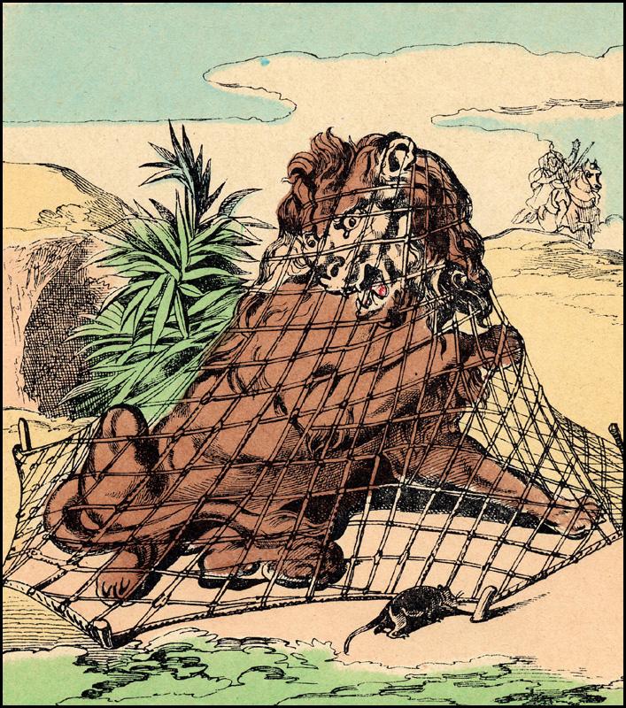 Images d 39 epinal gravures de f1adc - Image le lion et le rat ...